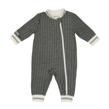 Juddlies Cottage Playsuit Bear Black