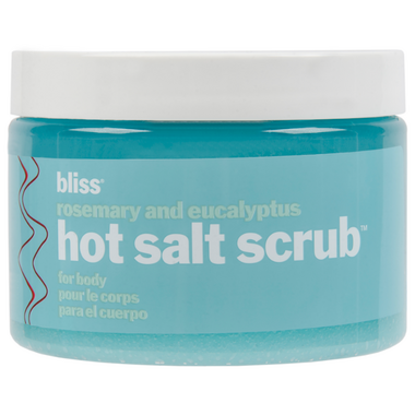 Bliss Hot Salt Scrub with Rosemary + Eucalyptus