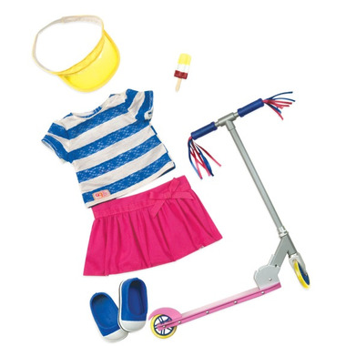 Our Generation Cute to Scoot Deluxe Outift