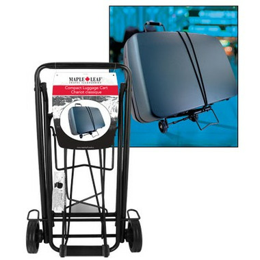 Maple Leaf Compact Luggage Cart