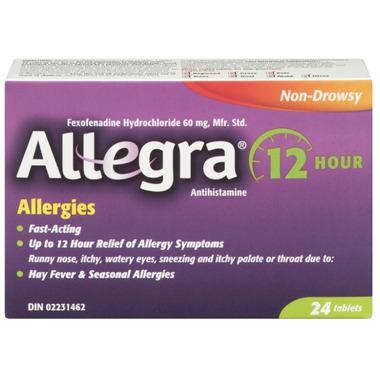 Allegra Allergy 12 Hour Relief