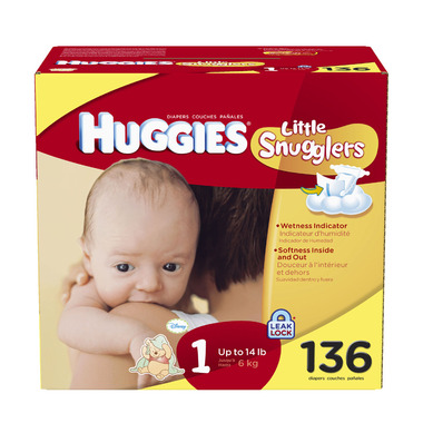 Huggies Little Snugglers Hi Count Junior