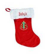 Snug As A Bug Baby's First Christmas Stocking
