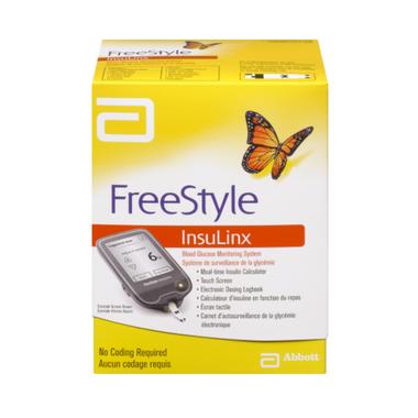 Abbott Freestyle Insulnix Blood Glucose Monitoring System