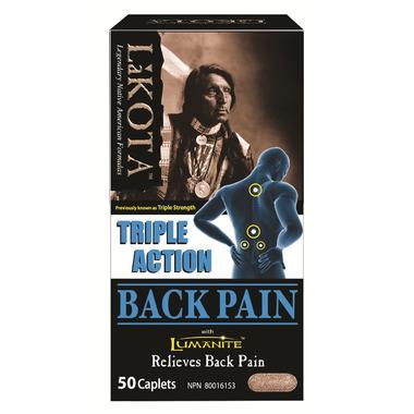Lakota Triple Action Back Pain Formula