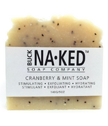 Buck Naked Soap Company Cranberry & Mint Soap