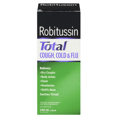 Robitussin Total Cough, Cold & Flu