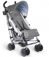 UPPAbaby G-Luxe Stroller Pascal Grey & Silver