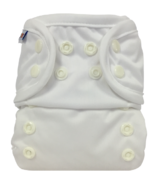 Bummis All-in-One Cloth Diaper Snap White