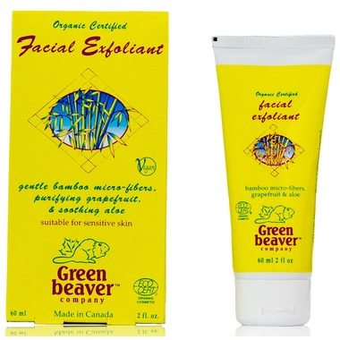 Green Beaver Aloe Vera and Bamboo Facial Scrub