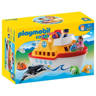 Playmobil 1.2.3 My Take Along Ship