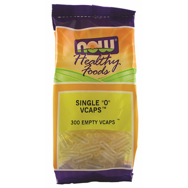 NOW Foods Single 0 Vcaps