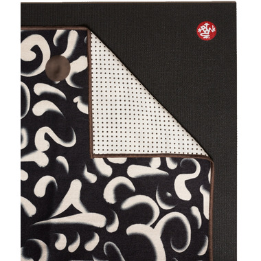 Manduka yogitoes Skidless Towels Clarity in Chaos