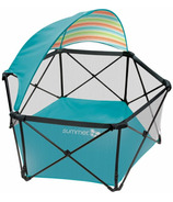 Summer Infant Aqua Pop n Play Ultimate Playard with Canopy