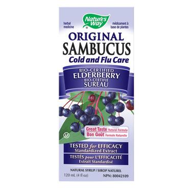 Nature\'s Way Sambucus Cold & Flu Elderberry Syrup