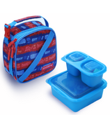 Goodbyn Insulated Expandable Lunch Kit Zap