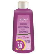 Alba Botanica Kids Sunscreen Lotion