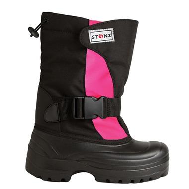 Stonz The Trek Toddler Winter Bootz Pink & Black