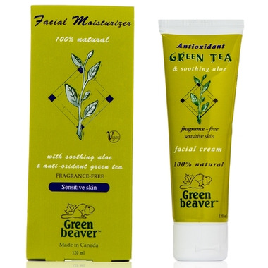 Green Beaver Green Tea Facial Moisturizer