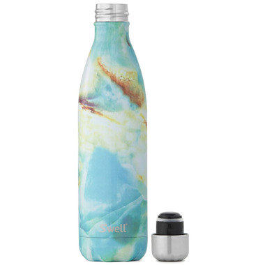 S\'well Opal Marble Stainless Steel Water Bottle Elements Collection