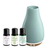 Ellia Blossom Aroma Diffuser & Essential Oil Blend Gift Set