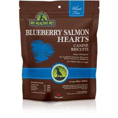 Holistic Blend Blueberry Salmon Hearts