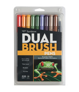 Tombow Secondary Palette Dual Brush Pen Set