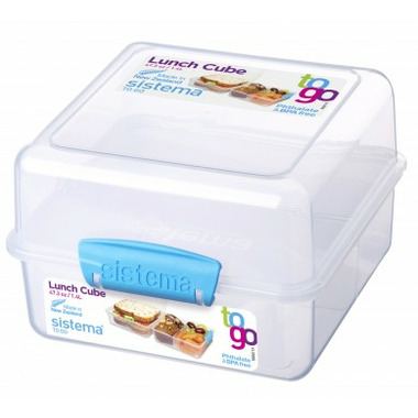 Sistema Lunch Cube To Go Blue