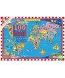 eeboo World Map Kid's Puzzle