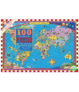 eeboo World Map Kid's Puzzle
