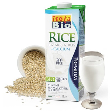 Isola Bio Rice Beverage + Calcium