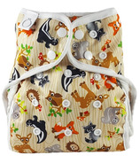 Omaiki One Size Diaper Cover Forest Friends