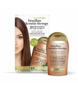 OGX Ever Straight Brazilian Keratin Therapy 30 Day Smoothing Treatment