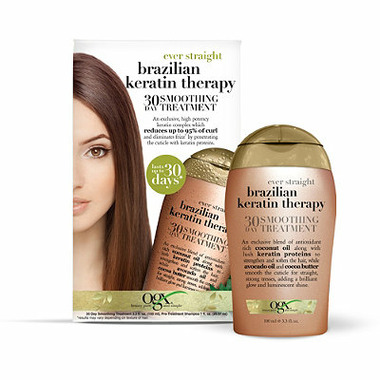 Buy OGX Ever Straight Brazilian Keratin Therapy 30 Day Smoothing Treatment at Well.ca   Free ...