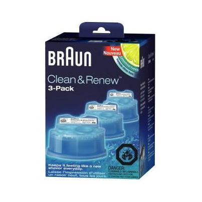 braun clean renew shaving cartridge refill. Black Bedroom Furniture Sets. Home Design Ideas
