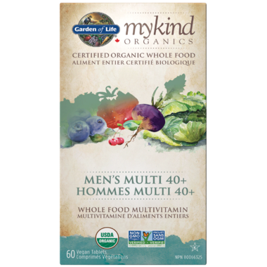 Garden of Life MyKind Organics Men\'s Multi 40+