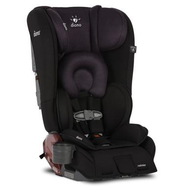 Diono Rainier Convertible Booster Car Seat Black Plum