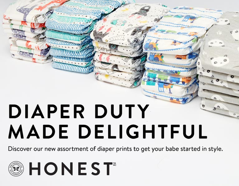 The Honest Company Diapering Personal Care More Well Canada