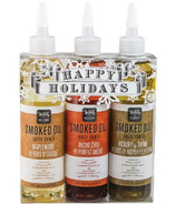 Wildly Delicious Smoked Oils Holiday Gift Set