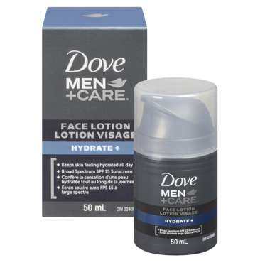 Dove Men +Care Hydrate+ Face Lotion