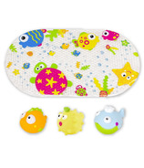 Kushies Marine Bath Mat and Toy Set