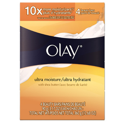 Buy Olay Body Cleansing Ultra Moisture Bar 4 X 90 G Online