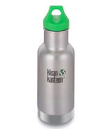 Klean Kanteen Kid Kanteen Vacuum Insulated Water Bottle Brushed Stainless