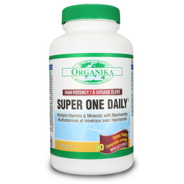 Organika Super One Daily Multi-Vitamins & Minerals