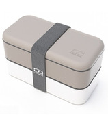 Monbento MB Original The Bento Box in Grey & White