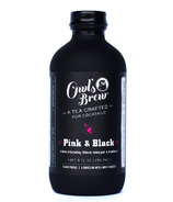 Owl's Brew Tea Mixers Pink & Black