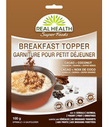 Real Health SuperFoods Breakfast Topper Cacoa + Coconut