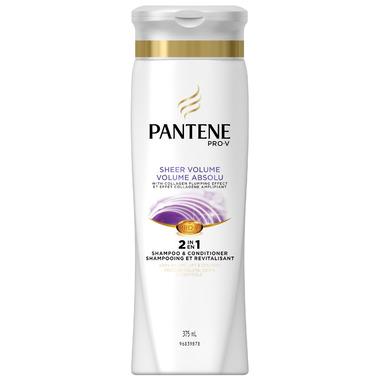 Pantene Sheer Volume 2 in 1 Shampoo & Conditioner