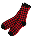 Hatley Men's Crew Socks Buffalo Plaid