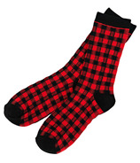 Hatley Men's Crew Socks Buffalo Plaid